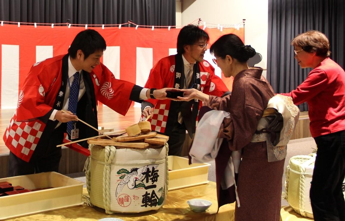 新春鏡開き開催 | トピックス | お知らせ |スマートコミュニティ稲毛 ...