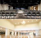 2つの大きなホールはコロナ禍の安全な活動拠点になりました